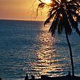 Sun Set in Stone Town, Zanzibar